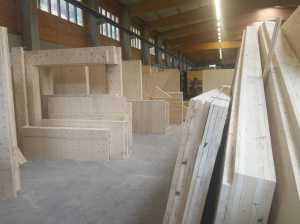 NUR-HOLZ panels, ready for delivery