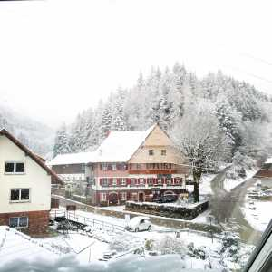 Oberharmersbach in winter